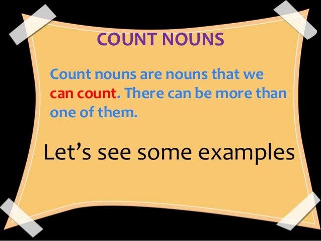 Countable nouns and uncountable nouns. Kaartjes maken met plaatjes.
