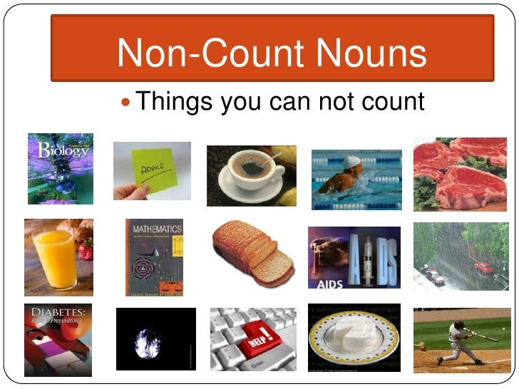 Common English Blunders: Count and Non-count Nouns - Mentor ...