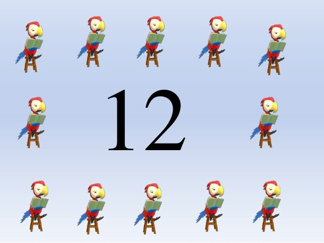 Play Group MATH Count &color The Number (12,১২