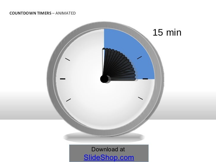 countdown timers animated