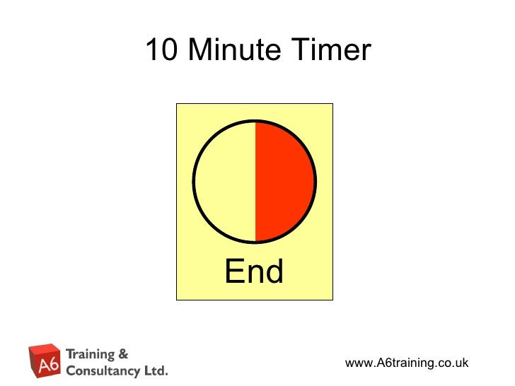10 minute countdown timer for powerpoint