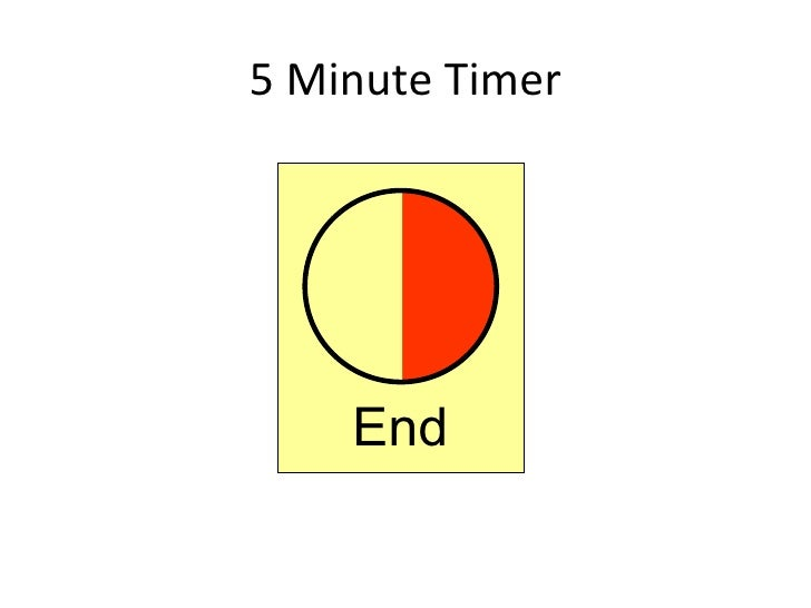 timer 5 minutes