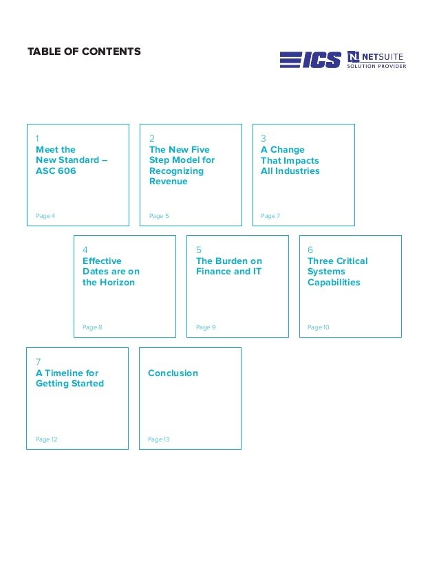 TABLE OF CONTENTS 5 The Burden on Finance and IT Page 9 3 A Change That Impacts All Industries Page 7 1 Meet the New Stand...