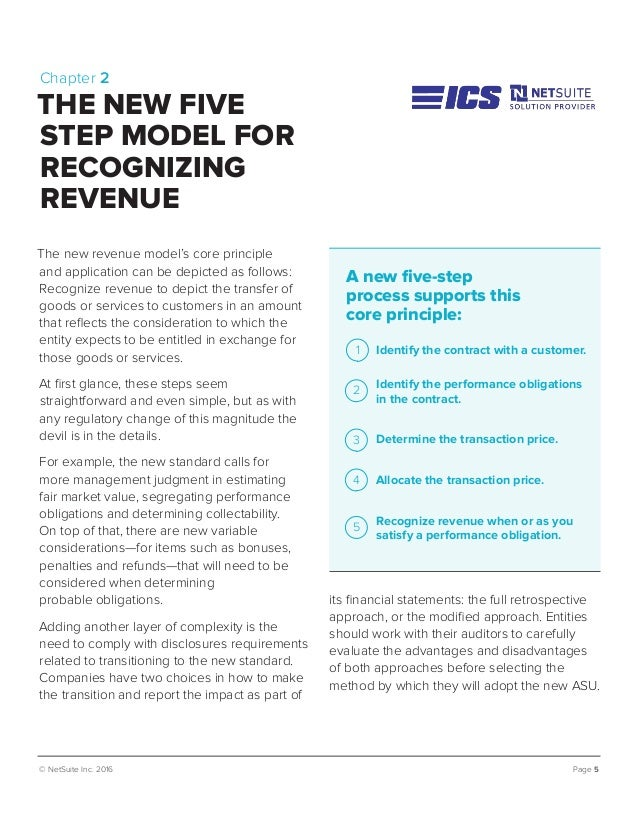 © NetSuite Inc. 2016 Page 5 its financial statements: the full retrospective approach, or the modified approach. Entities ...