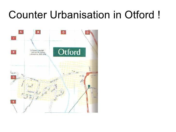 Counter Urbanisation in Otford !