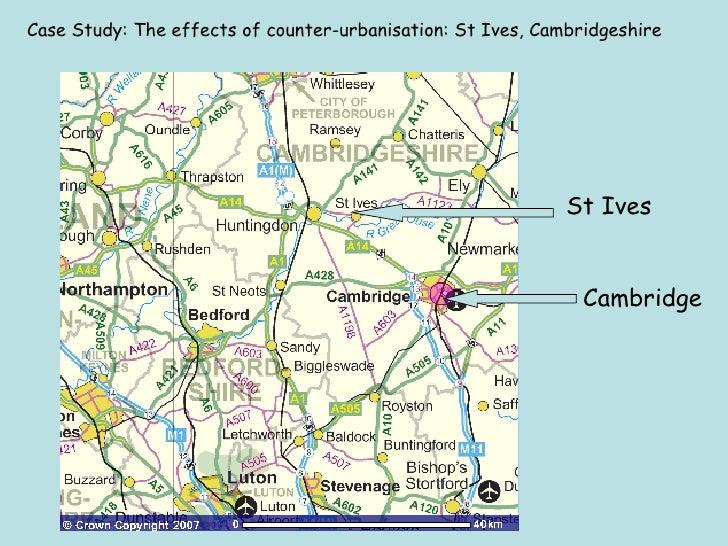 counterurbanisation case study