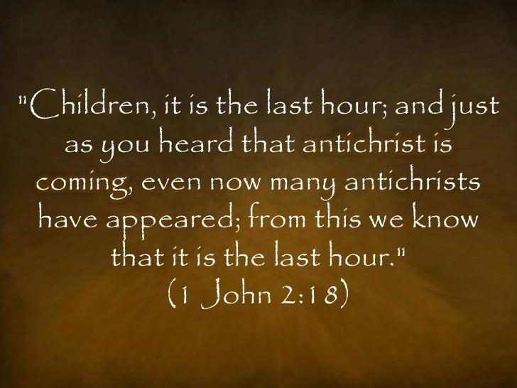 Counterfeit Christs - Antichrist Slide 3