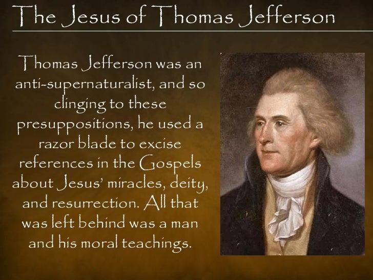 Rethinking Thomas Jefferson