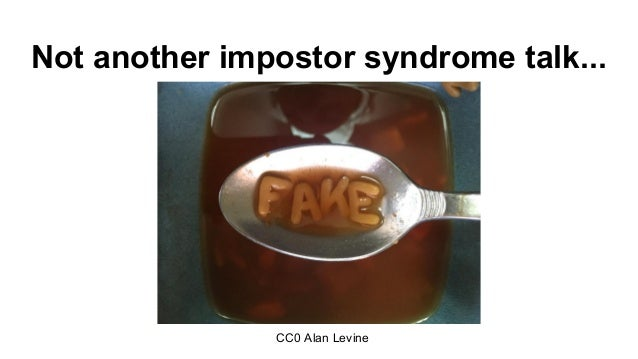 Countering impostor syndrome culture Slide 2