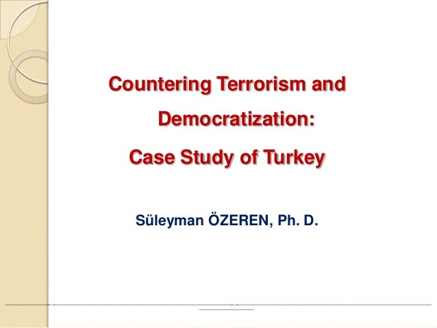 a study of terrorism Cistp analysis of global distribution of persons of concern a person of concern  is any person whom the united nations high commissioner on refugees.