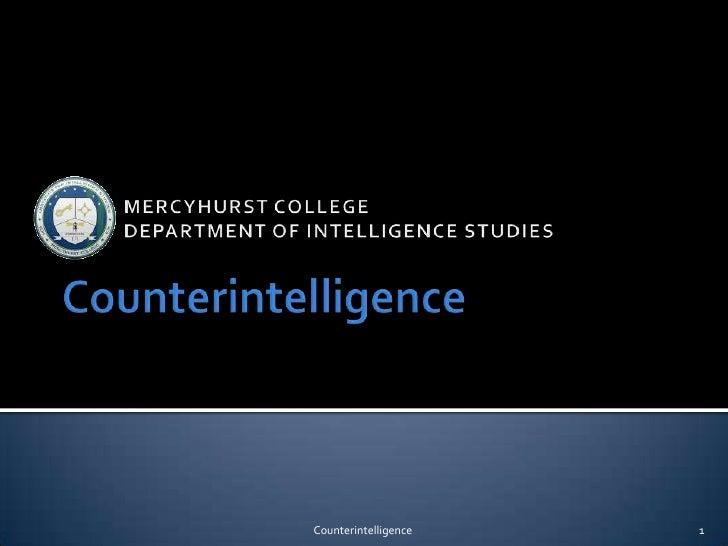 Counterintelligence   1