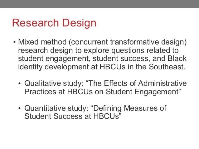 How Classroom Design Affects Student Engagement : Counternarratives and hbcu student success naspa