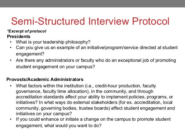 Counternarratives and hbcu student success naspa for Qualitative research interview protocol template