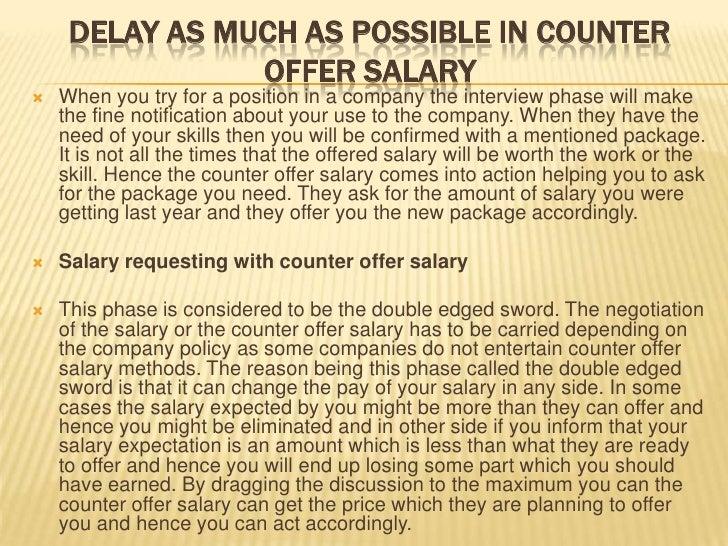 salary counter