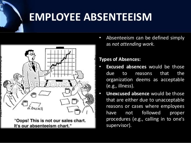 prevention of absenteeism in organisation Reducing and managing workplace absenteeism share tweet reddit  rather than absence, and the avenues your organization makes available to help them get well depending on the nature of the .