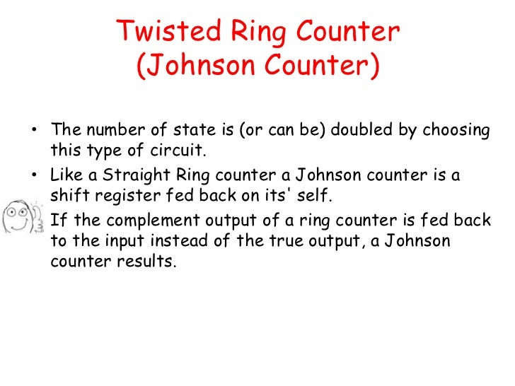 Counter with memes capable of generating different timing signals 10 twisted ring counter ccuart Choice Image