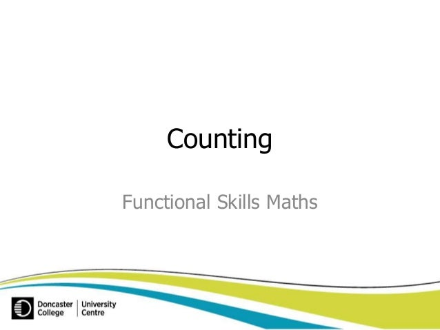Counting  Functional Skills Maths