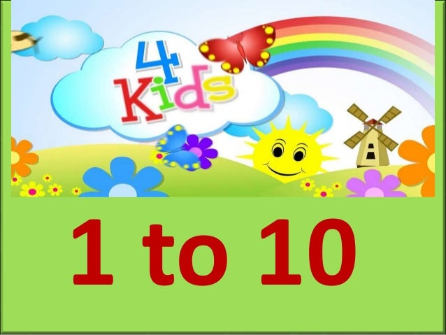 Counting 1 to 10 for Kids