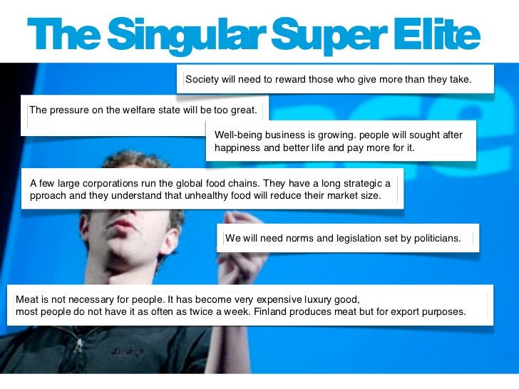 The Singular Super Elite                             The Zuckerbergs and Jobs' of the future see s                        ...