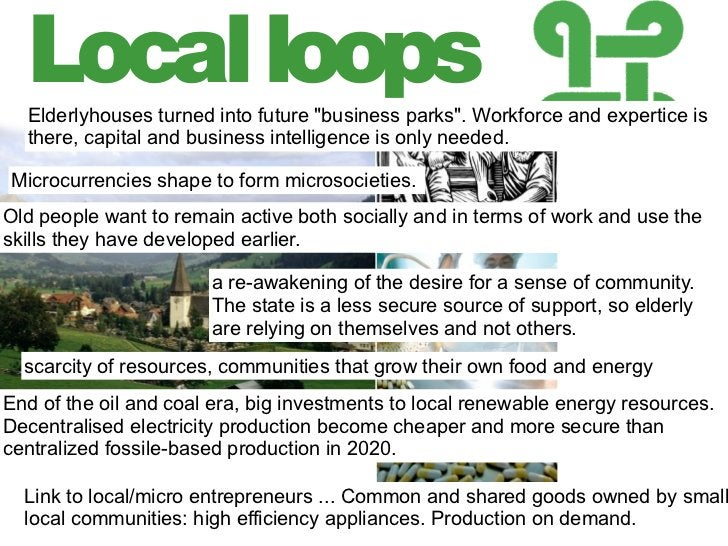 Local loops                    The world is build bottom-u                    Global interaction between p                ...