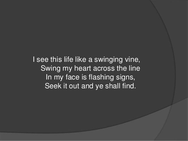 Lyric star swinging