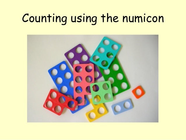 Counting using the numicon