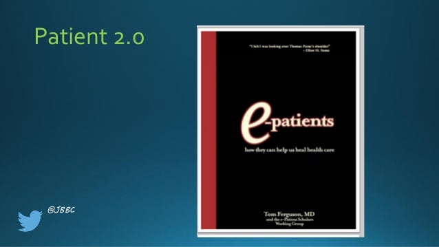 Count Me In: A Patient Perspective On Data-Driven Care  Slide 3