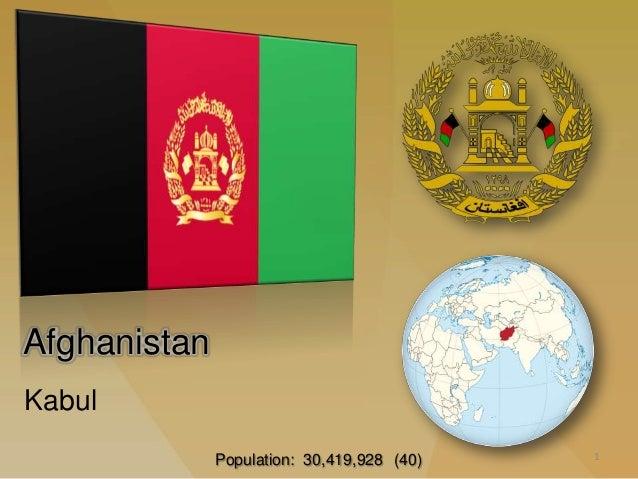 AfghanistanKabul                                            1              Population: 30,419,928 (40)