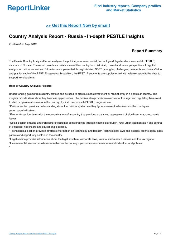 country pest analysis america Pest analysis of brazil country profile: brazil, officially known as the federative republic of brazil, is the fifth largest country in the world, in terms of both population and area, and the largest country in the latin america and south america region.
