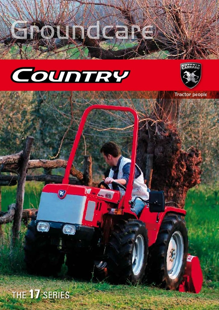 Groundcare                  Tractor people     THE 17 SERIES