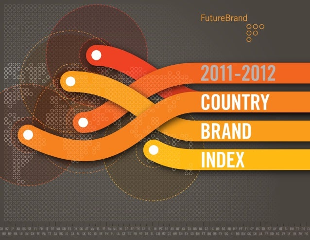 Welcome to the seventh annualFutureBrand Country Brand Index(CBI), our global study of country brandstrength. The 2011-201...