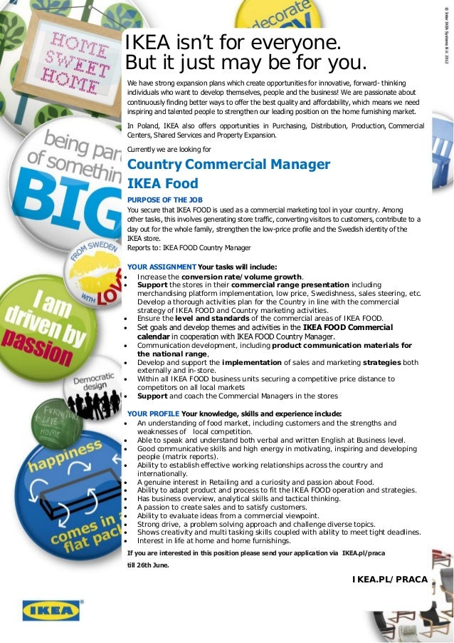ikea strategic fit List ikeas external and internal ikea essay answers - 1 list ikeas external and openings find suppliers to be a strategic fit with its highly.