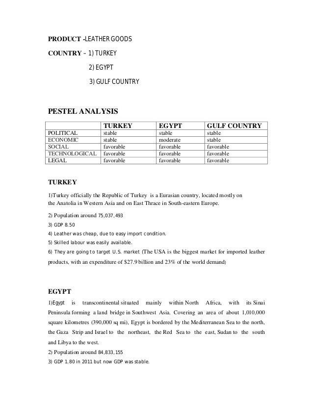 pest analysis egypt Pest analysis of egypt - download as word doc (doc / docx), pdf file (pdf),  text file (txt) or read online.