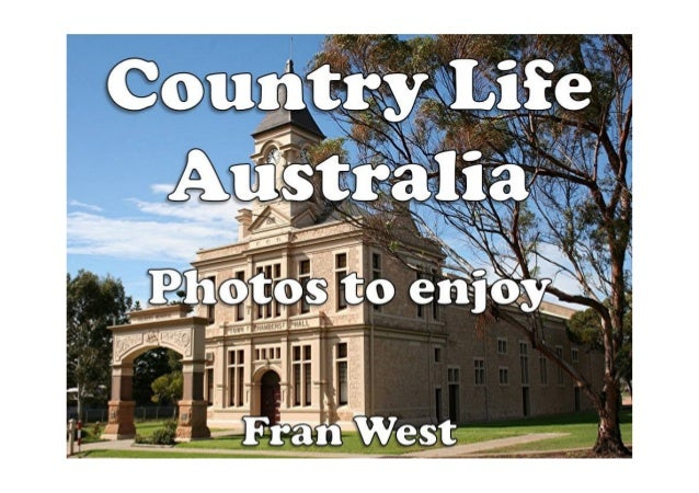 Country Life Australia Kindle Book Available from Amazon.com In this picture book there are 20 colorful photos of country ...