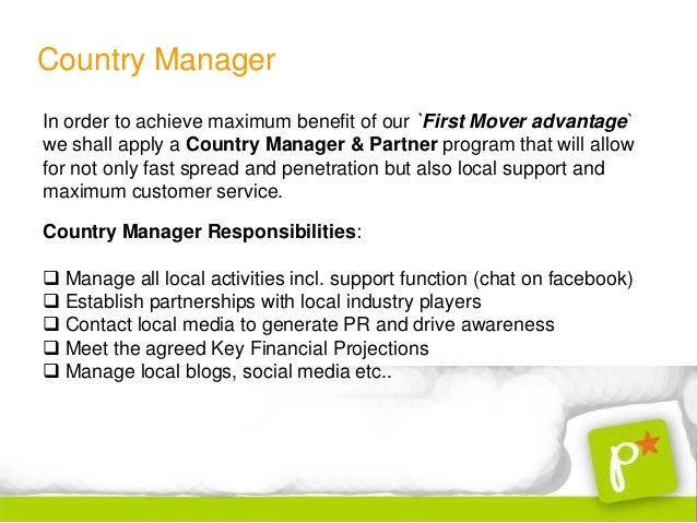 Country Manager October 2012