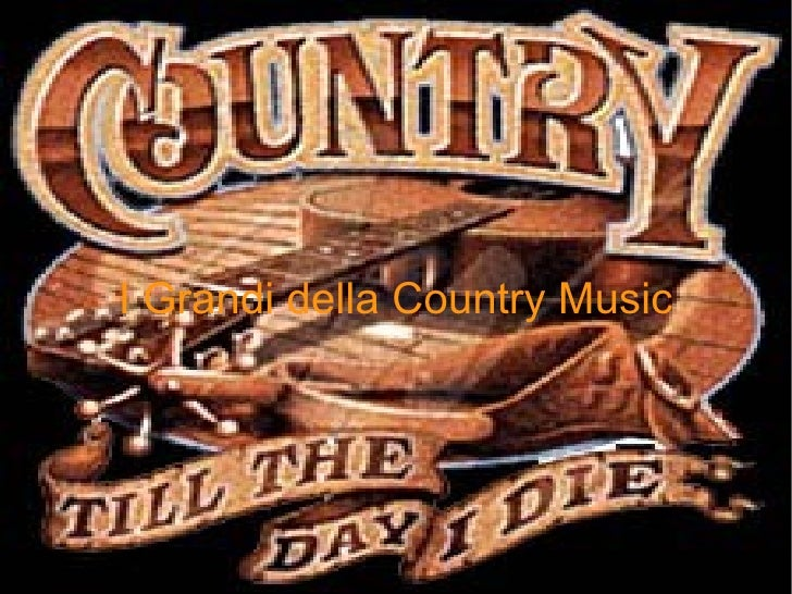 I Grandi della Country Music