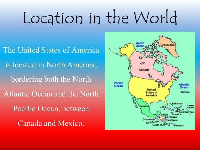 The united states of america » english slide presentation » slayd.