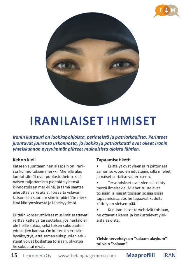 Säännöt dating Iranin mies
