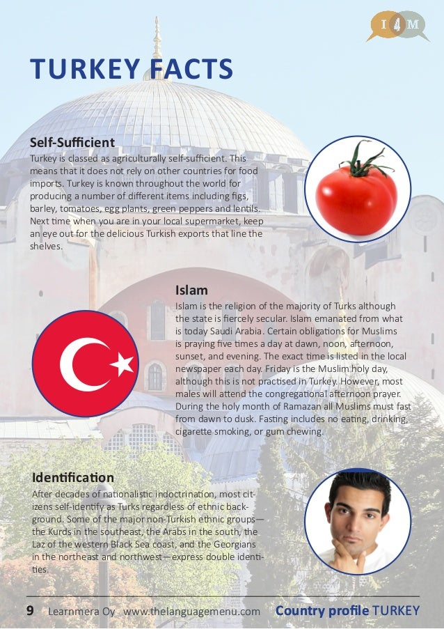 I4M Country profile turkey (in english)