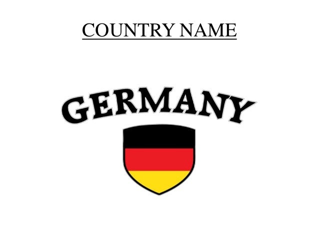 Country profiling germany