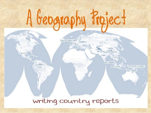 A Geography Project