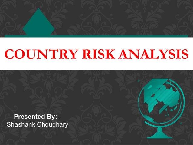 Country risk analysis dubai