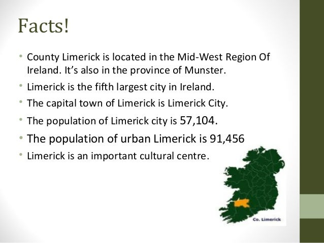 County Limerick Project - Facts about the west region