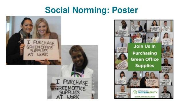 Social Norming: Poster