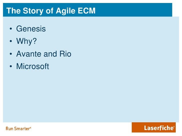 Government Growth And Agile Ecm