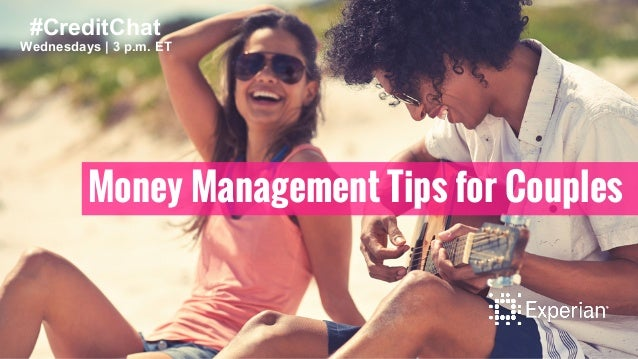 #CreditChat  Wednesdays   3 p.m. ET  Money Management Tips for Couples
