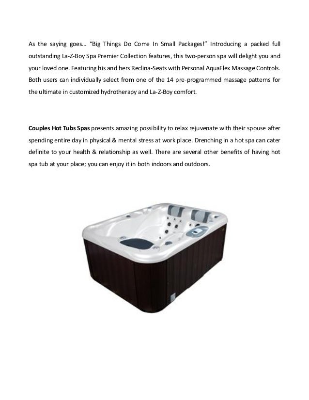 Couples Hot Tubs Spas - Soul Mate