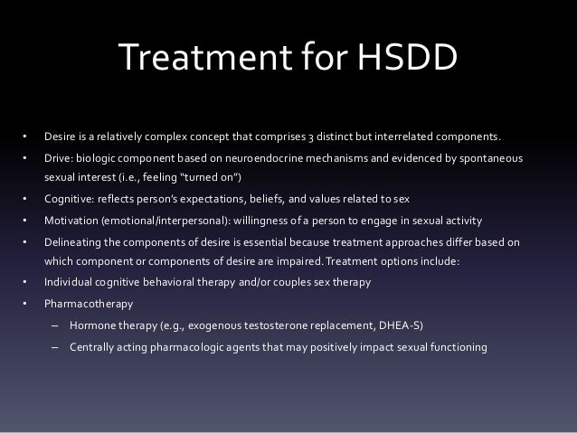 Male hypoactive sexual desire disorder drugs