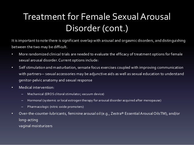 Menopause sexual disorders