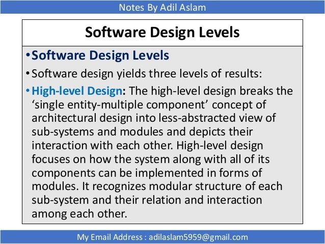 Modular Software Design Cohesion And Coupling